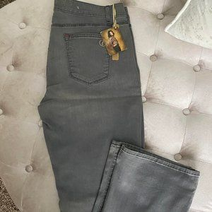 CJ by Cookie Johnson Grey Grey (Tall) Bootcut Jean
